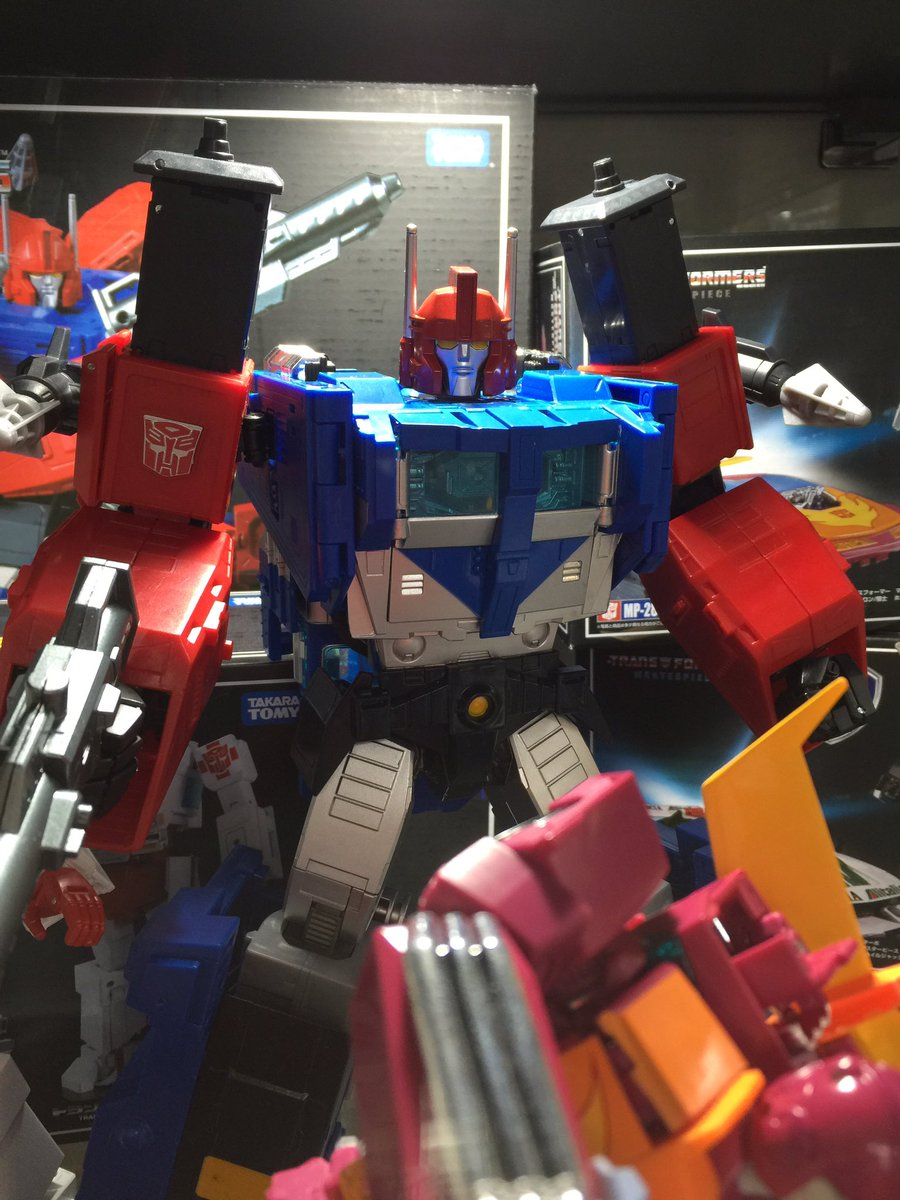 Transformers News: Takara Tomy Transformers Masterpiece MP-31 Delta Magnus On Display