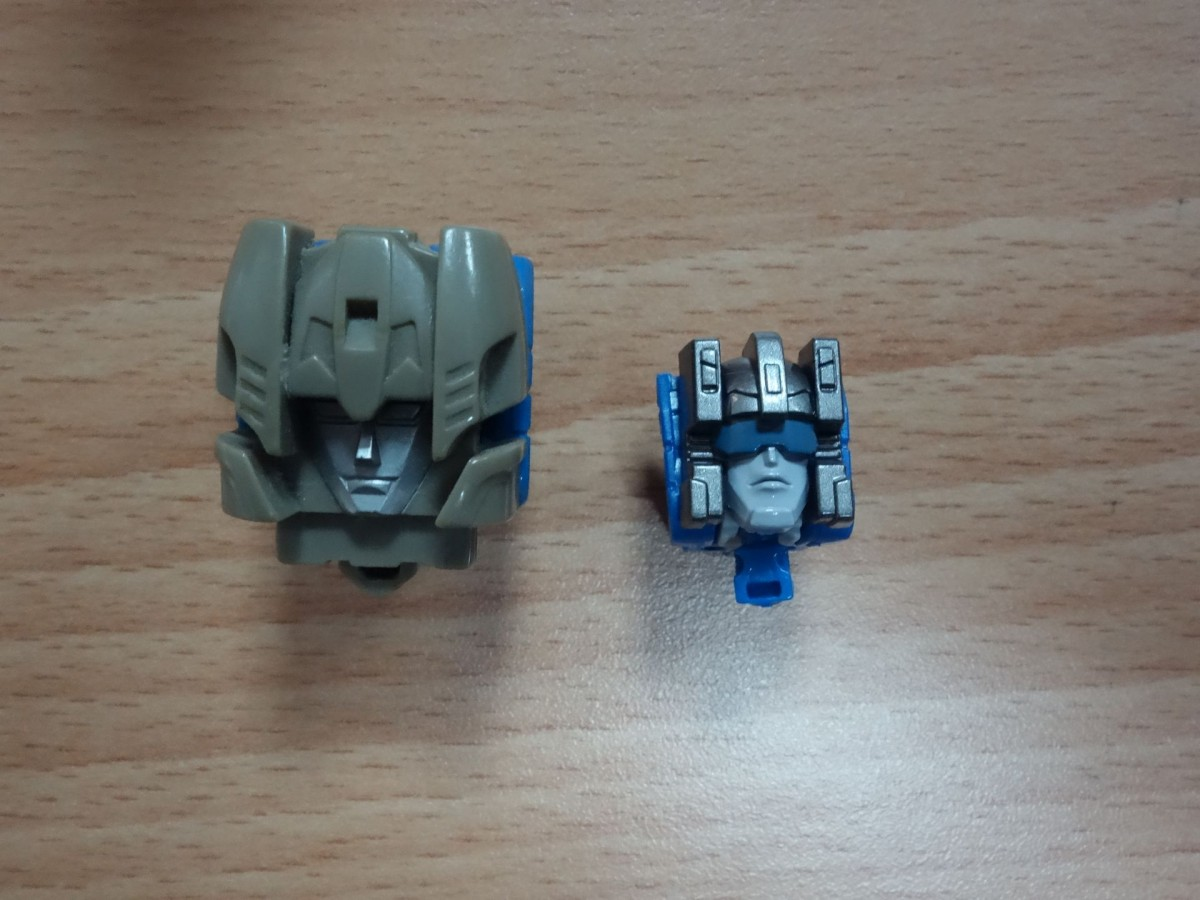 Transformers News: In Hand and G1 Comparison Images of Transformers Titans Return Chromedome and Highbrow