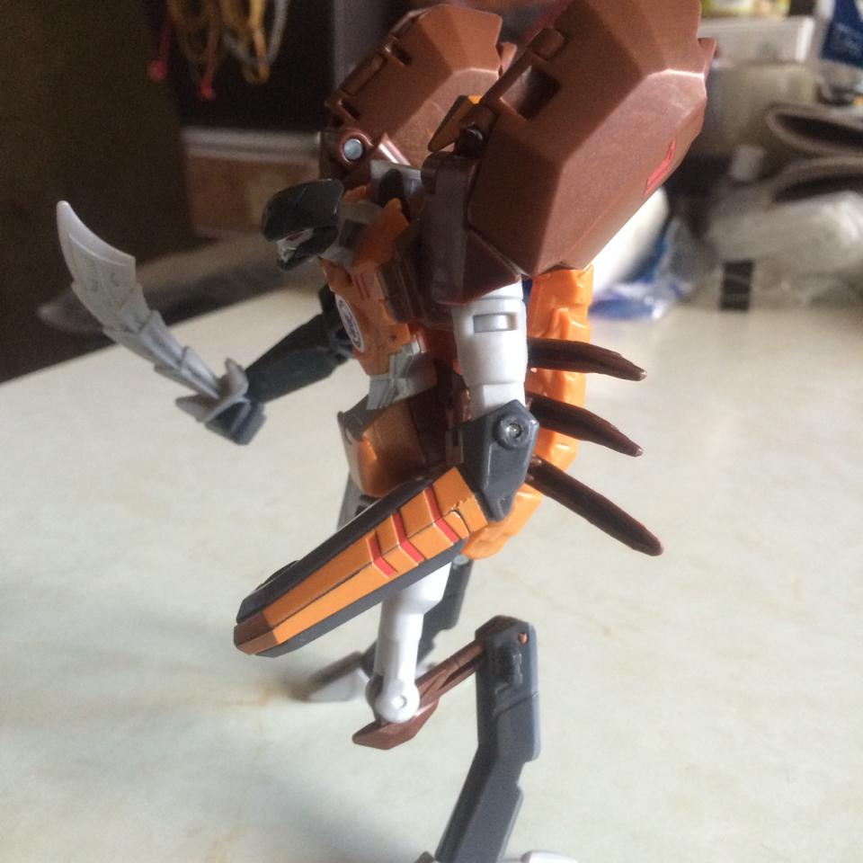 Transformers News: Transformers Robots in Disguise Warrior Scorponok In-Hand Images