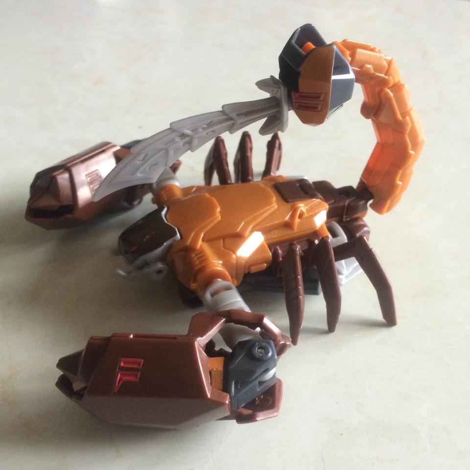 Transformers Robots In Disguise Warrior Scorponok In Hand Images
