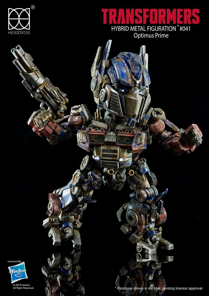 Transformers News: Herocross HMF#041 Transformers Optimus Prime EVASION MODE Revealed