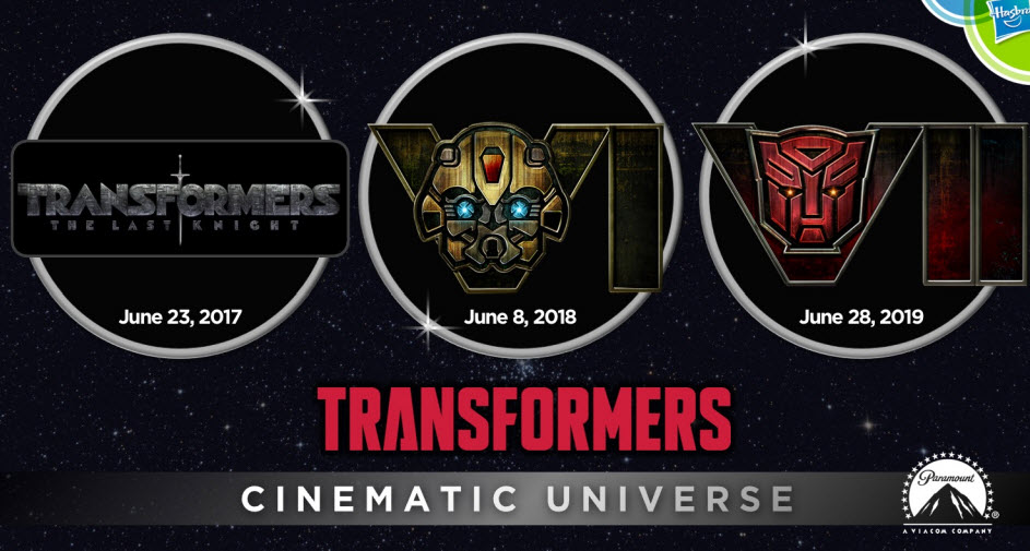 stand in logos for transformers films 6 bumblebee and 7