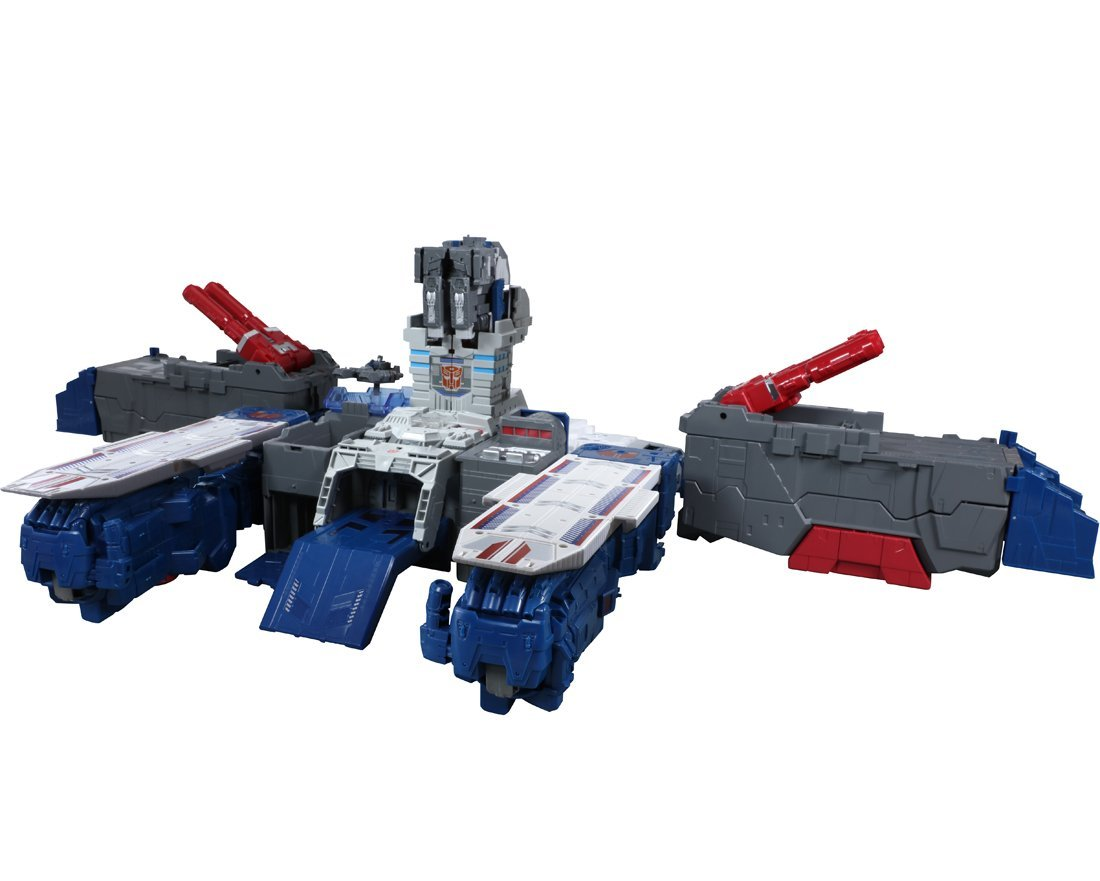 Transformers News: New Images of Takara Transformers Legends LG31 Fortress Maximus Featuring Fortress Headmasters