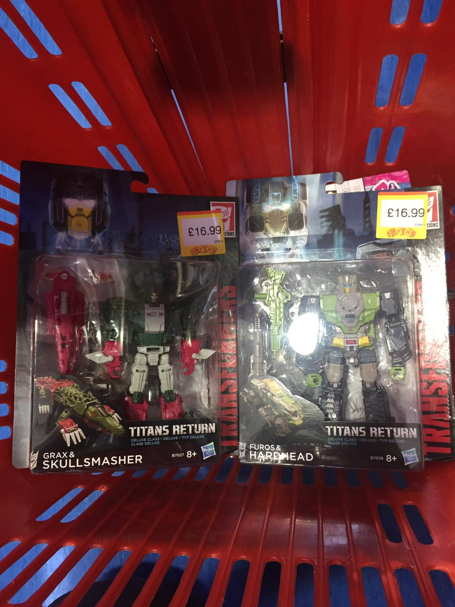 Transformers News: Transformers Titans Return Deluxes and Galvatron Sighted at UK Retail