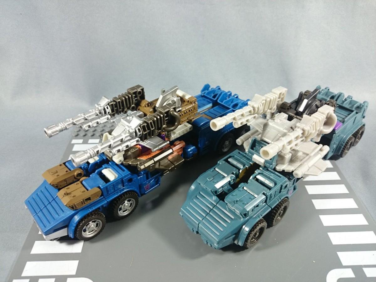 Transformers News: TakaraTomy Transformers Unite Warriors UW-07 Bruticus Comparisons
