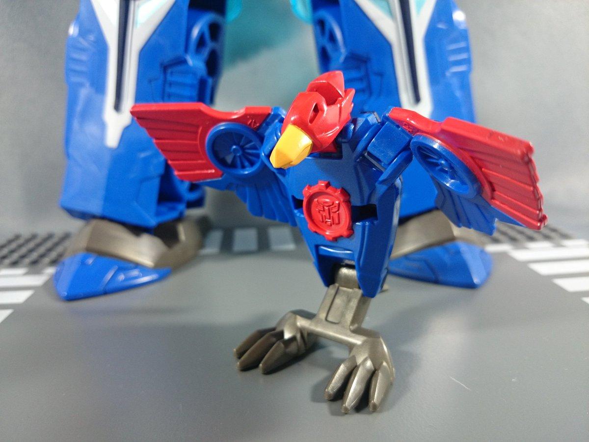 Transformers News: TakaraTomy Transformers Adventure TAV-50 Hypersurge Optimus Prime In-Hand