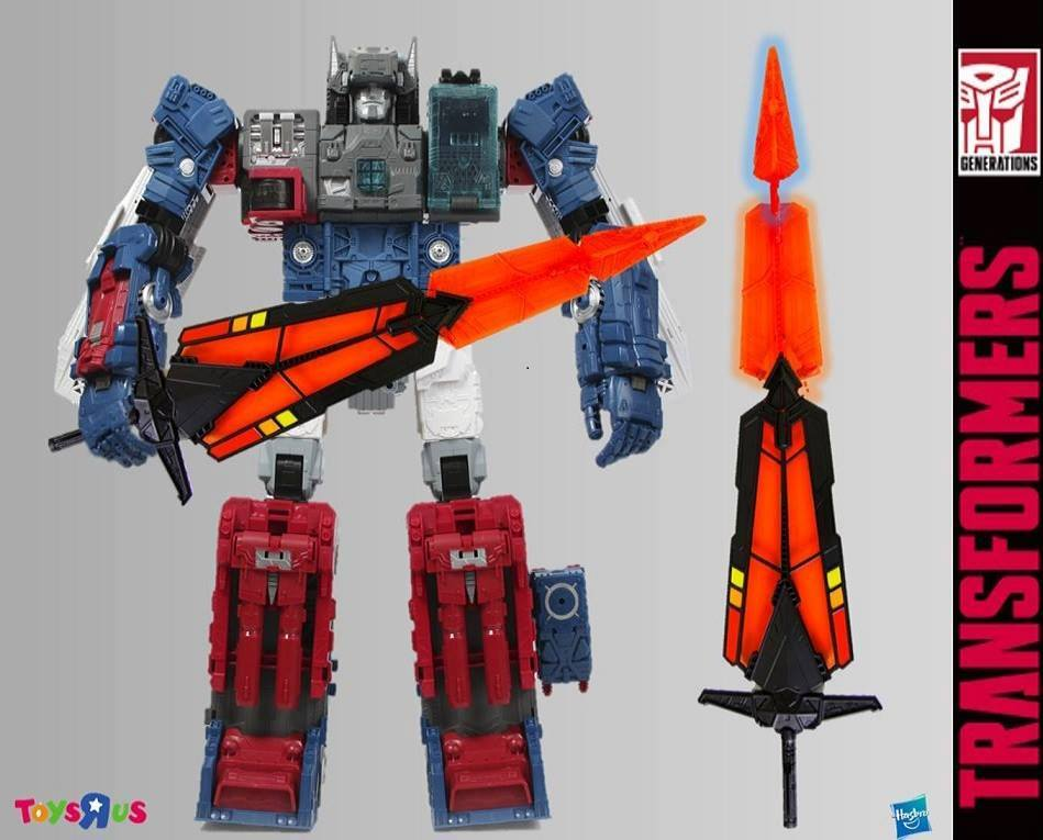 Transformers News: Transformers Titans Return Fortress Maximus Master Sword Hong Kong ToysRus Exclusive In Package