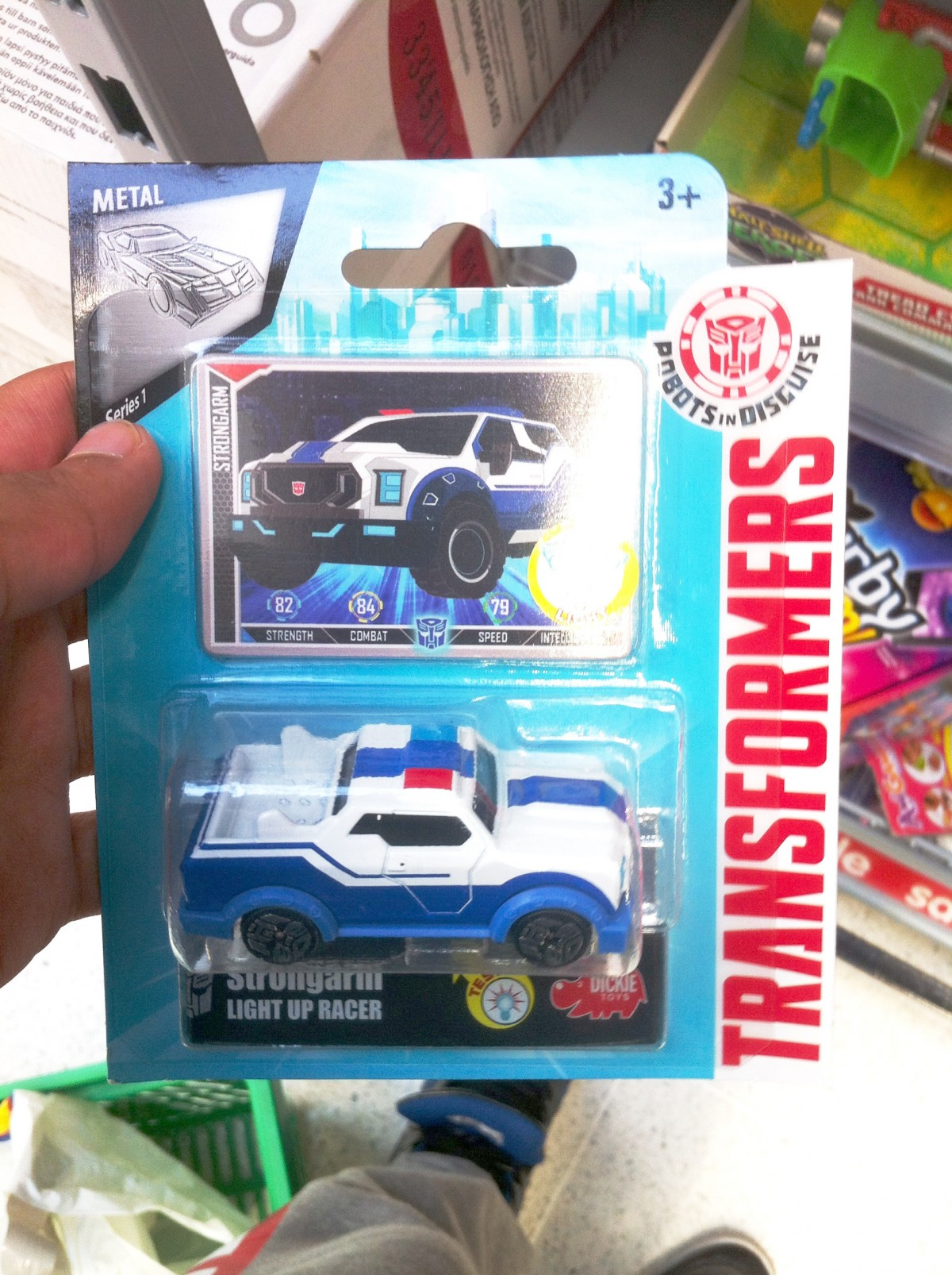 Transformers News: Transformers: Robots in Disguise Light Up Racers by Dickie Toys and R/C Bumblebee Sighted in UK