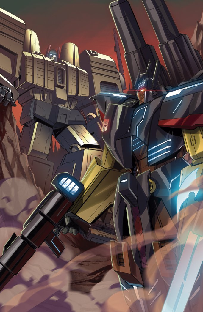Transformers News: IDW Transformers Titans Return One Shot Subscription Cover Revealed