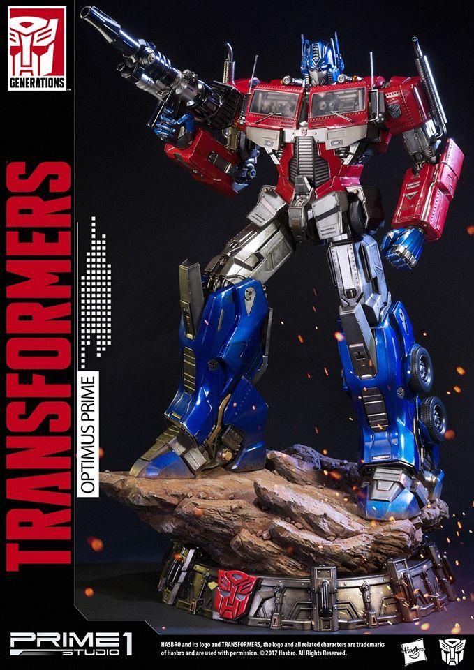 Transformers News: Prime 1 Studio PMTF-01 Generation 1 Optimus Prime Revealed