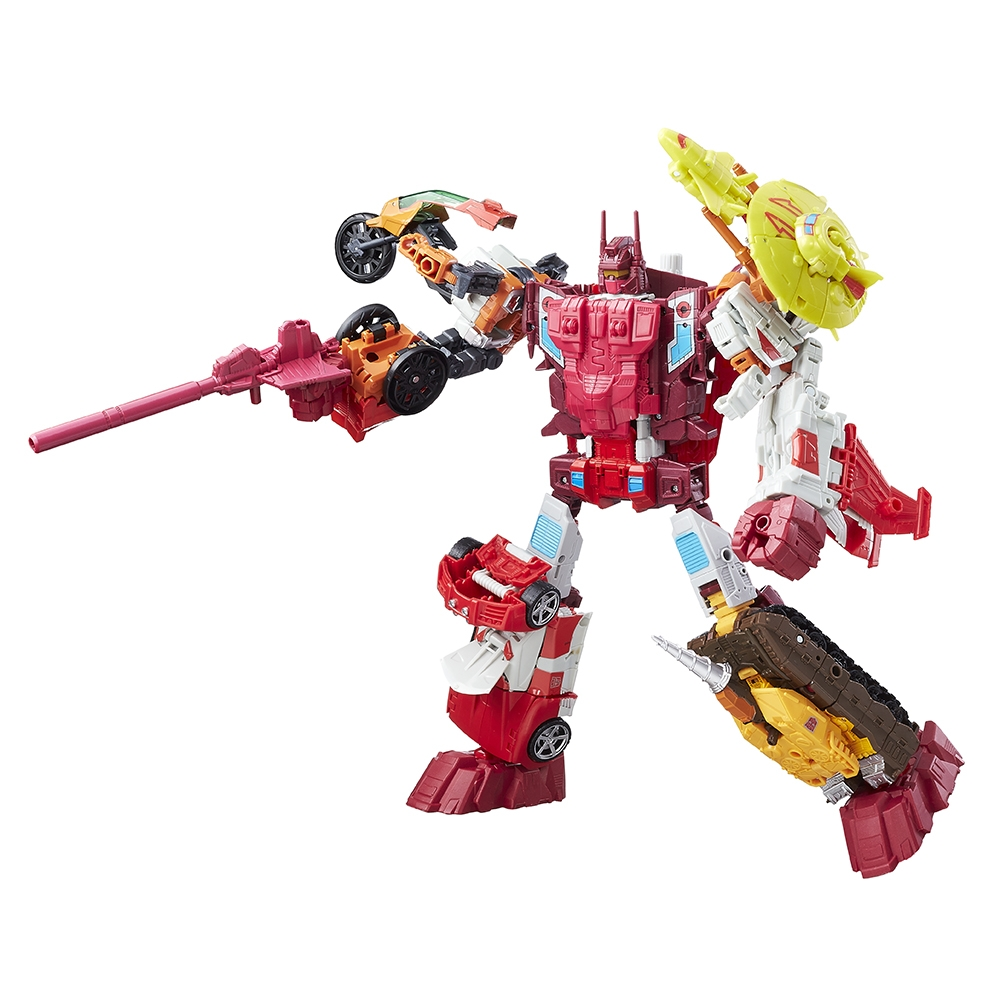Transformers News: New Images of Transformers Generations Combiner Wars Computron and Cybaxx Name Revealed