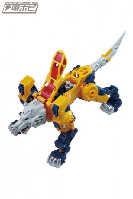 Transformers News: New Images of Takara Tomy Transformers Legends LG30 Weirdwolf