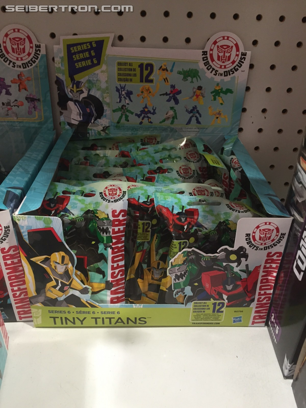 Transformers News: Transformers Tiny Titans Wave 6 Spotted at US Retail