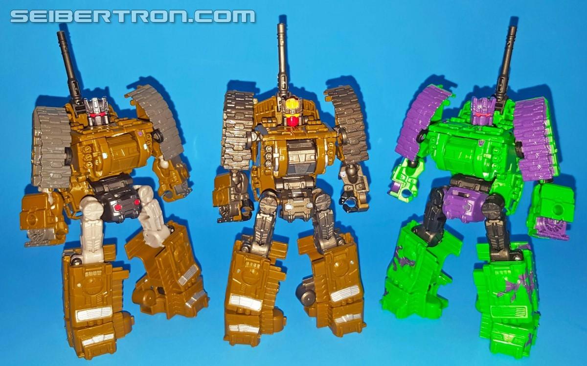 Transformers News: Battle Of The Brutici - Seibertron User Review: Unite Warriors, Combiner Wars, G2 Bruticus