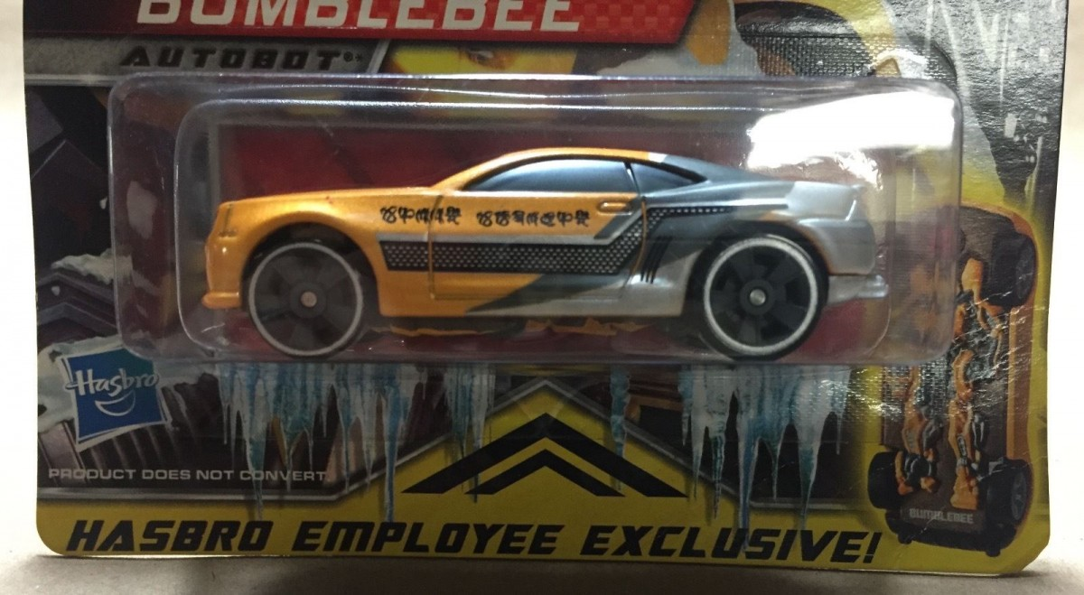 Transformers News: Hasbro Employee-Exclusive 2009 Bumblebee RPM on eBay