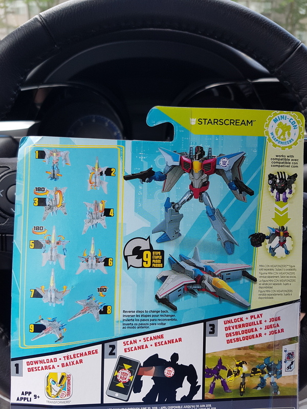 Transformers News: In-Hand Images - Transformers Robots in Disguise Warrior Class Starscream