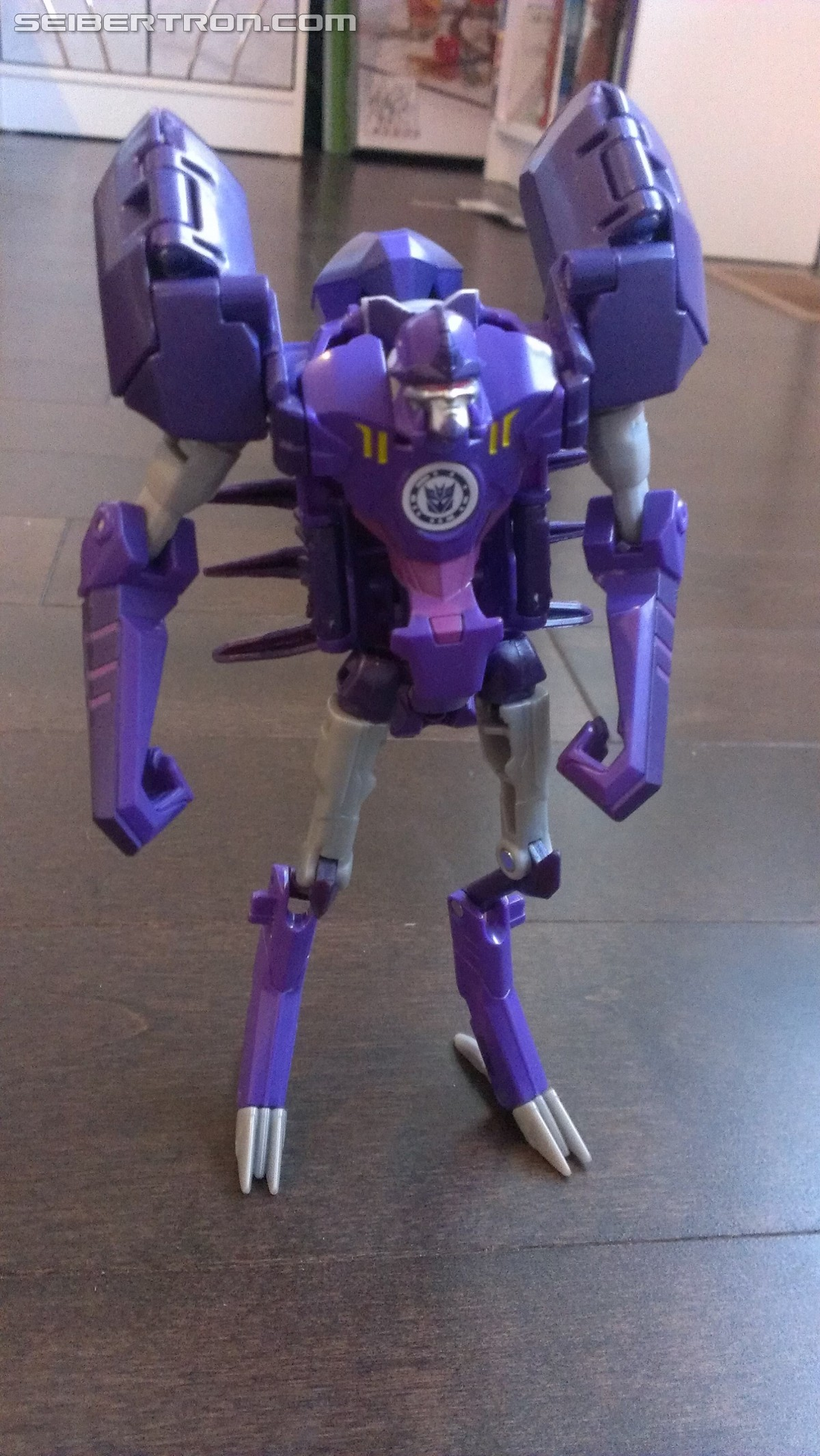 Transformers News: A Ton of Images of TRU Exclusive Robots in Disguise Paralon (Scorponok Redeco) with Review