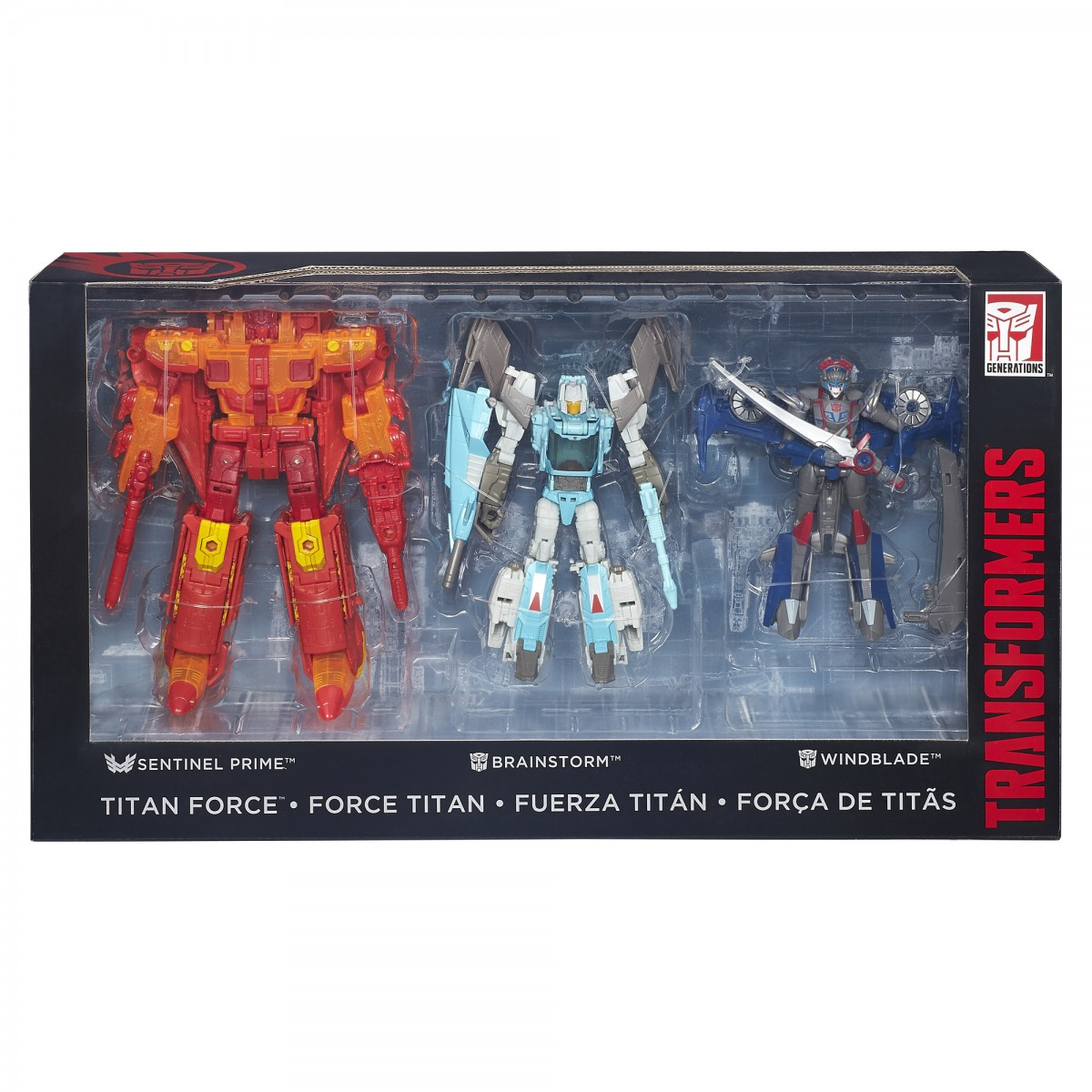 Transformers News: San Diego Comic Con 2016 Exclusive Titans Force Set Official Images and Description