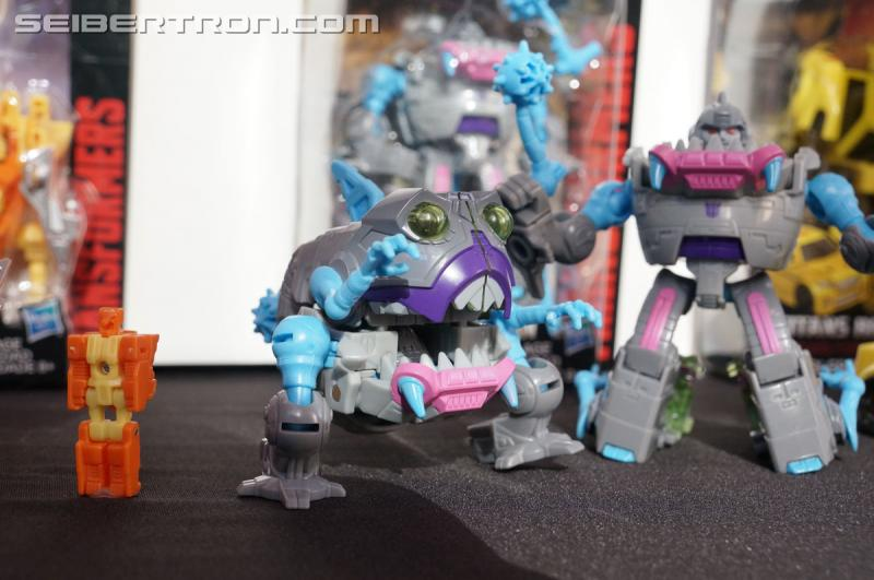 Transformers News: Hasbro Press Event: Titans Return Megatron, Gnaw, Brainstorm, Bumblebee and More!! #SDCC