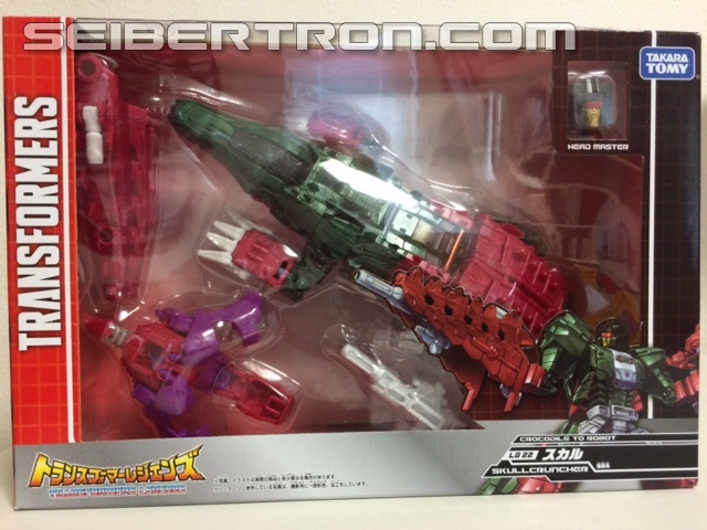 Transformers News: In hand Images of Takara Tomy Transformers Legends LG21 Hardhead and LG22 Skull