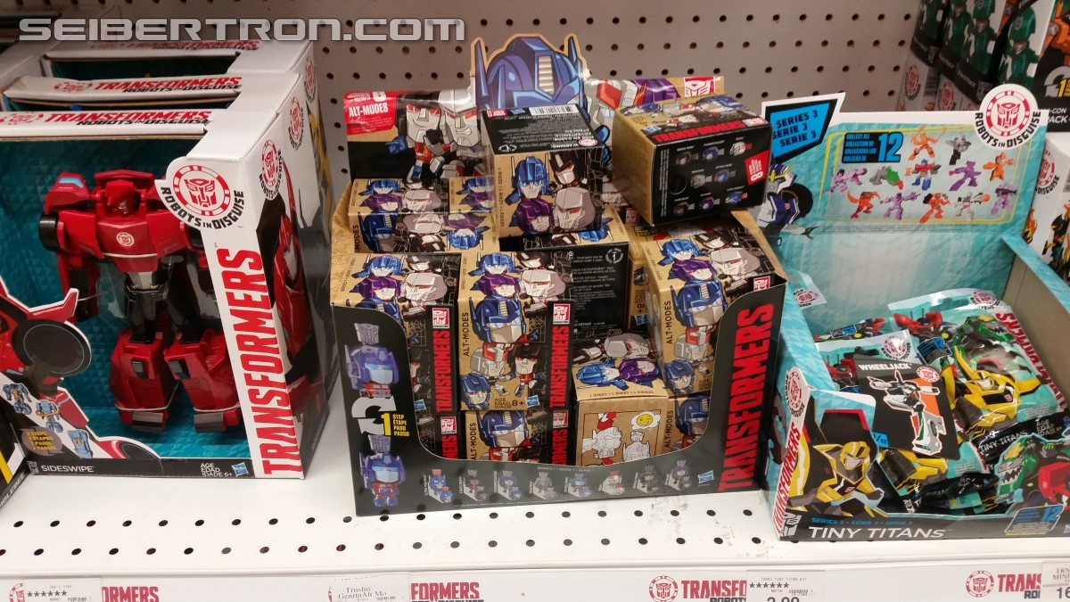 Transformers News: Transformers Alt Modes Forst Wave Found at US Retail