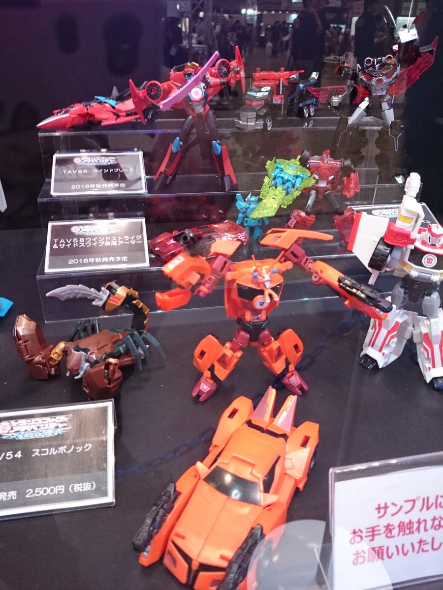 Transformers News: Wonderfest Summer 2016 Takara Transformers Adventure Reveals: Starscream, Windblade, Nemesis Prime
