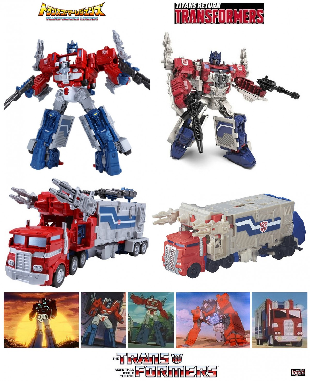 Transformers News: New Images and Comparisons of Takara Tomy Transformers Legends LG35 Super Ginrai (Powermaster Prime)