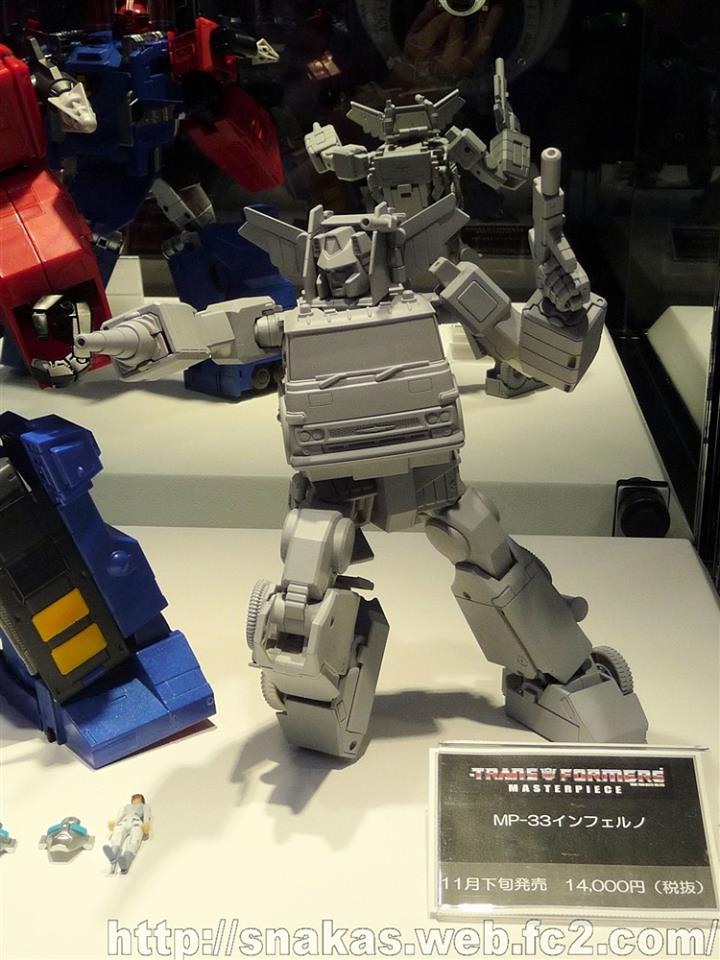 Transformers News: Wonderfest Summer 2016 - TakaraTomy Transformers Masterpiece MP-31 Delta Magnus