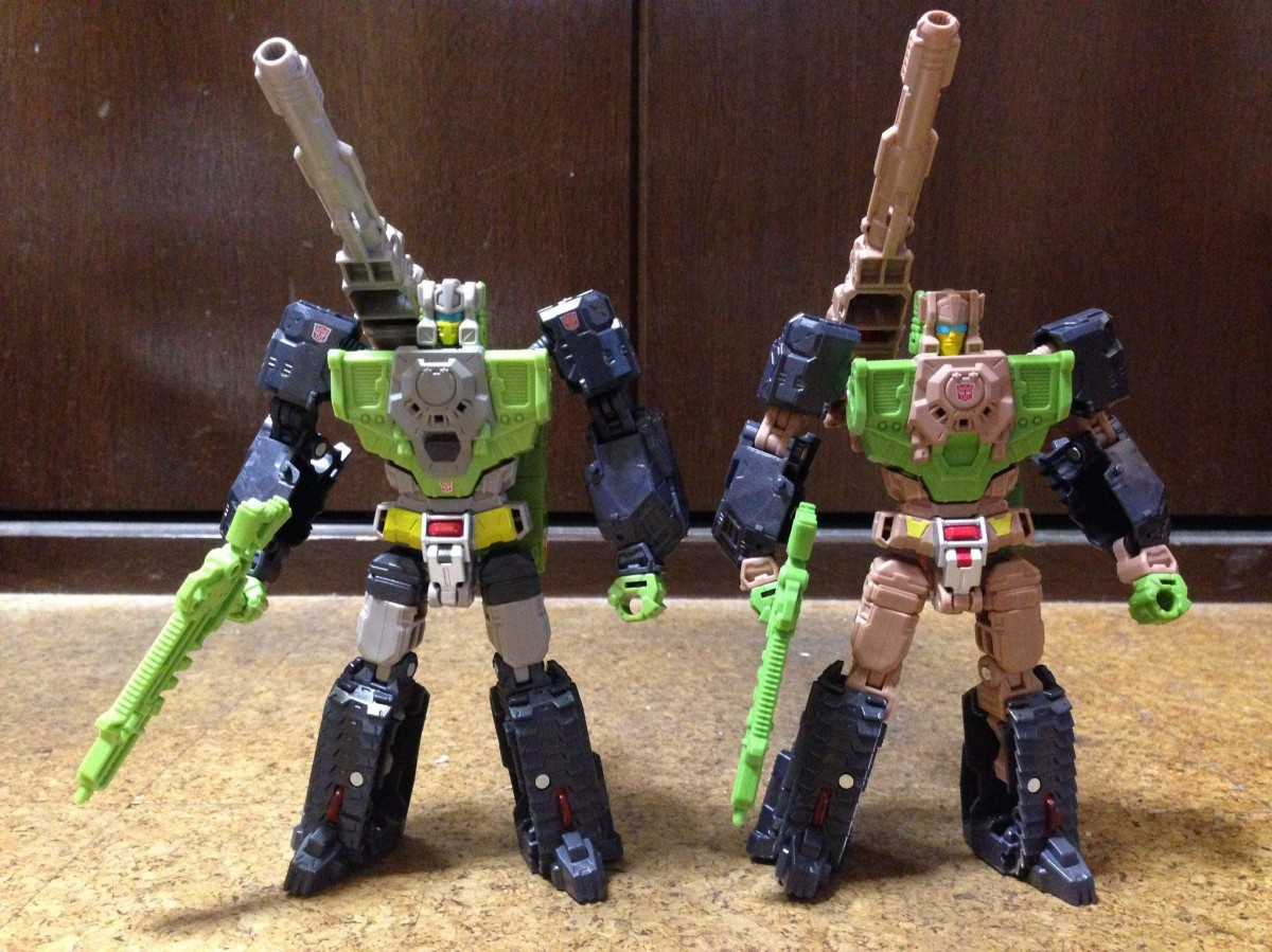 Takara Tomy Transformers Legends Hardhead and Galvatron ...