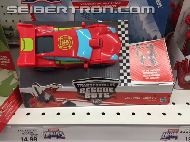 Transformers News: Transformers: Rescue Bots Rescue Racers and Racing Trailer Sighted at US Retail