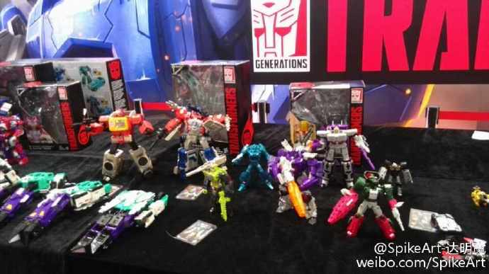 Transformers News: Transformers Titans Return SixShot Spotted at CybertronCon 2016