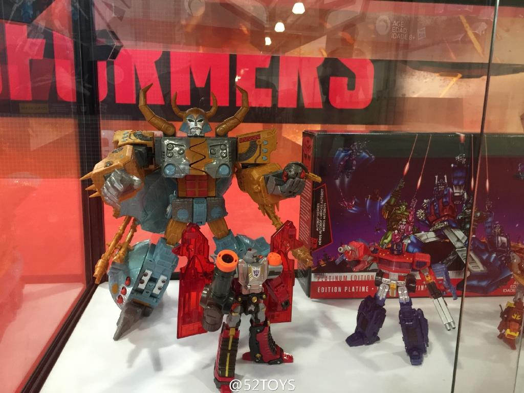 Transformers News: Platinum Edition Unicron revealed at Cybertron Con 2016