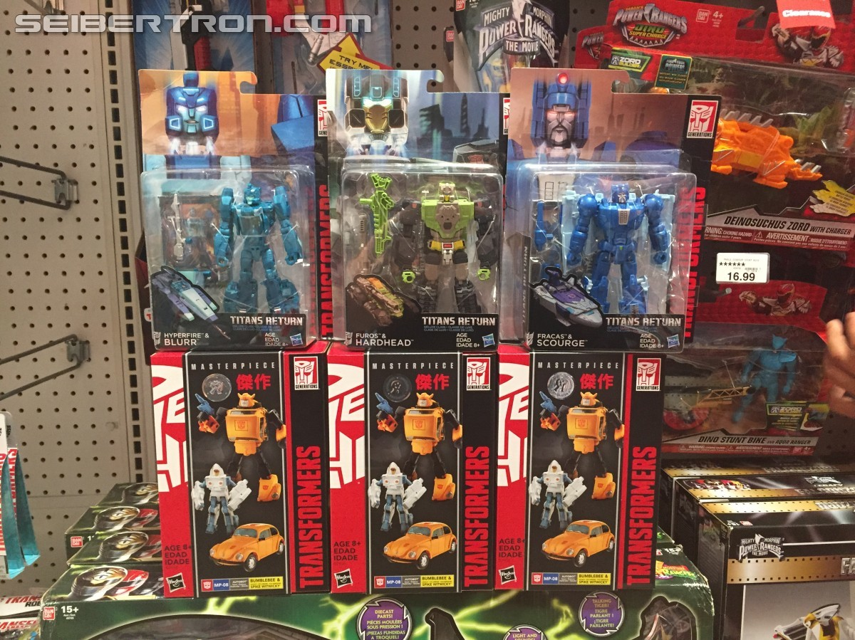 Transformers News: Hasbro Transformers Masterpiece MP-08 Bumblebee Found In Stores