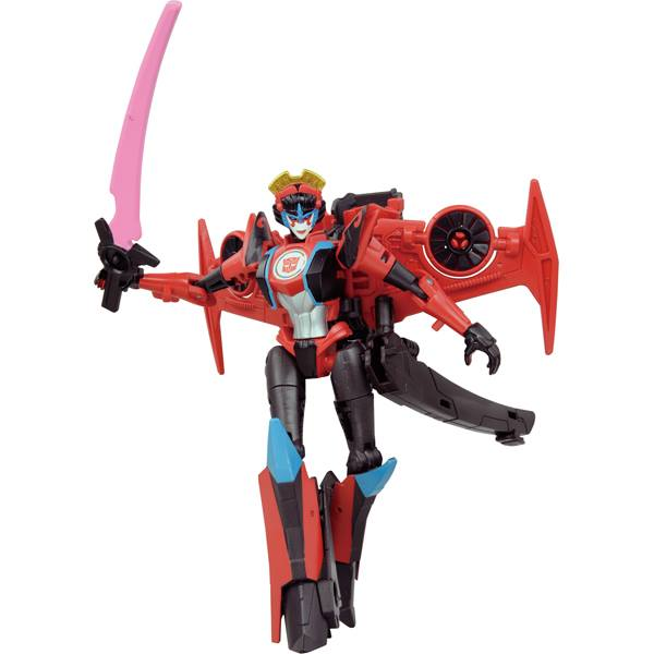 Transformers News: Official Takara Tomy Transformers Adventure TAV 56 Nemesis Power Surge Prime and TAV 55 Windblade