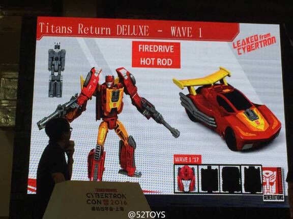 Transformers News: Transformers Titans Return Kickback, Hot Rod, Optimus Prime, Fangry, Ptero