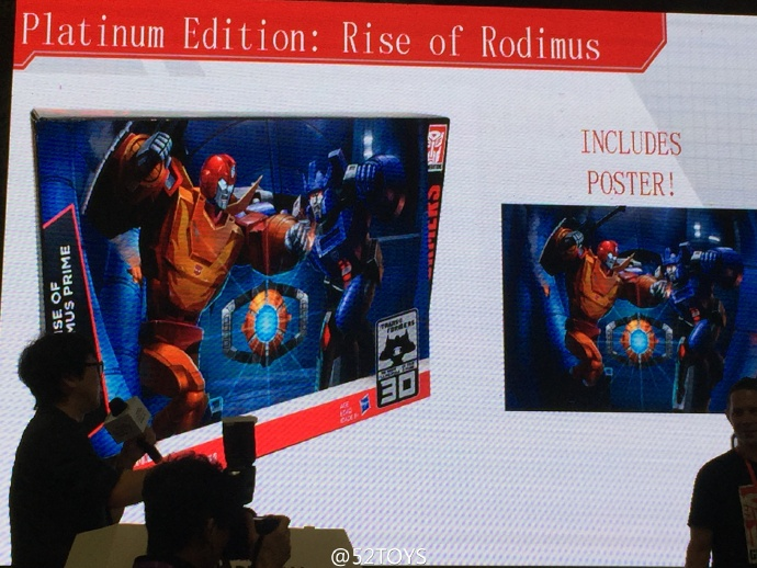 Transformers News: 2016 Generations Platinum Edition Rise of Rodimus Set