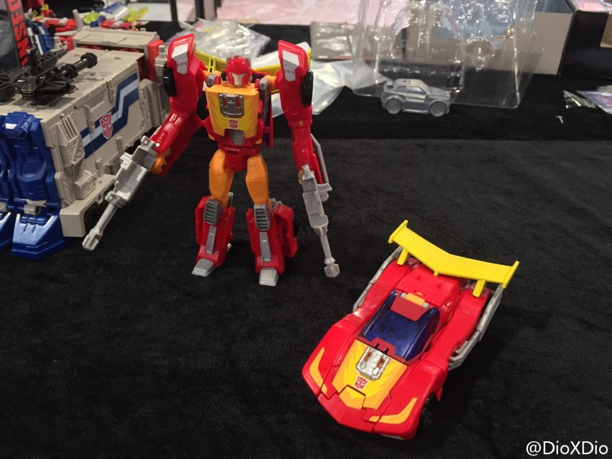 Transformers News: Better Looks at Transformers Titans Return Hot Rod and Optimus Prime