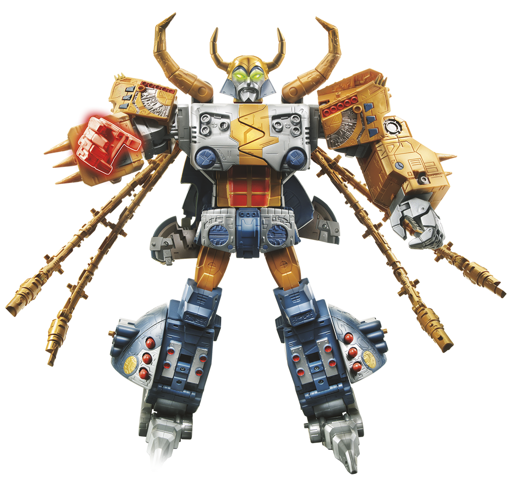 Transformers News: Official Images - Platinum Edition Unicron with Kranix