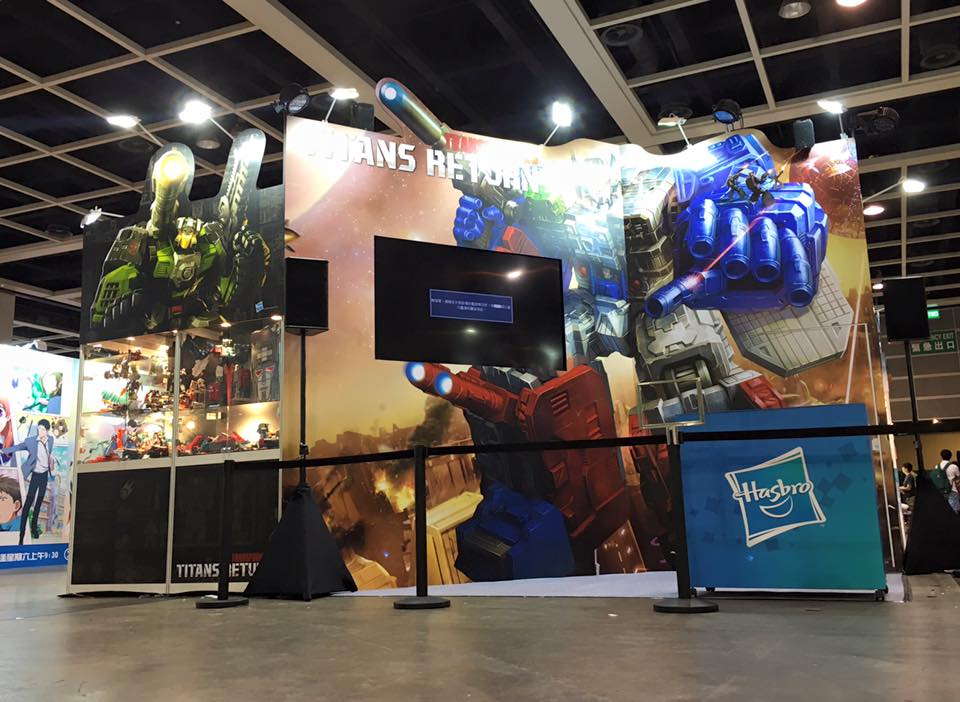 Transformers News: Ani-Com and Games Hong Kong 2016 Images: Transformers Masterpiece, Titans Return and More