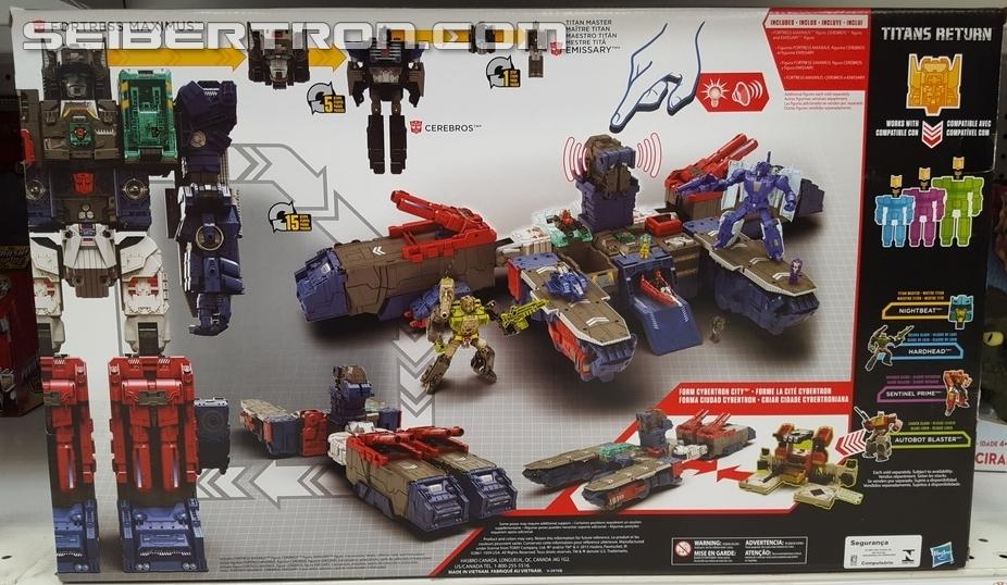 Transformers News: Transformers Titans Return Titan Class Fortress Maximus U.S. Sightings
