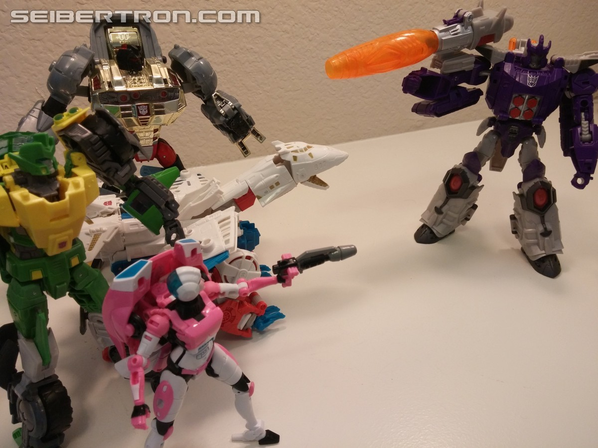 Transformers News: Transformers: Titans Return Galvatron and Titan Master Nucleon Pictoral Review