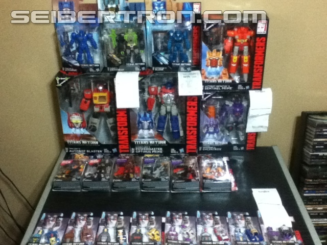 Transformers News: Transformers Titans Return Wave 2 Legends Out in Canada
