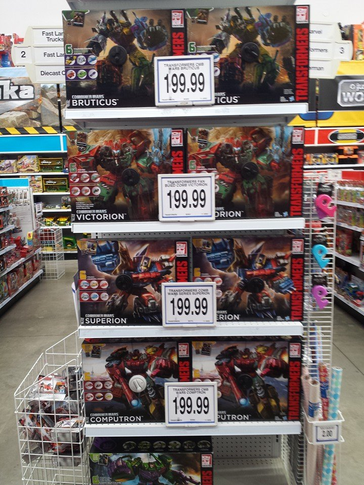 Transformers News: Transformers Generations Combiner Wars Computron and G2 Bruticus Now Available in Australia