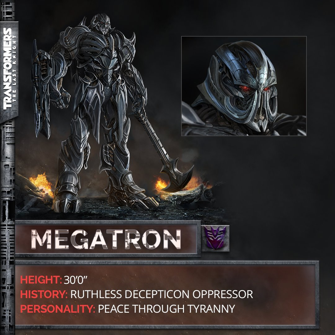 Transformers News: Re: Transformers: The Last Knight Discussion Thread