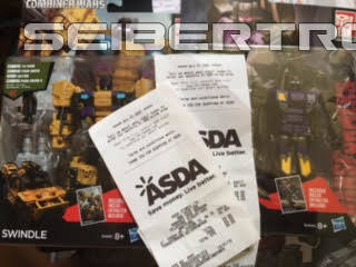 Transformers News: Heavily Discounted Combiner Wars Toys Found at ASDA in the UK