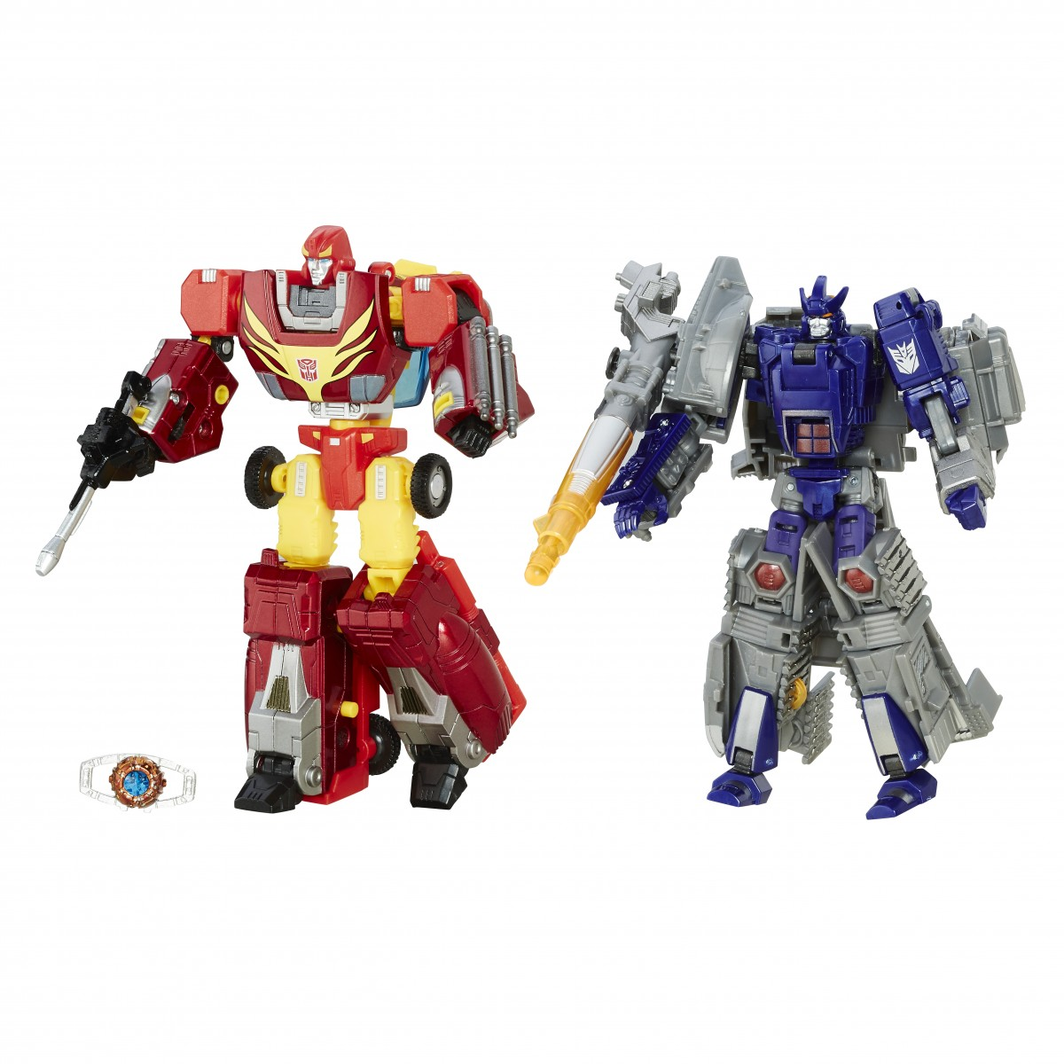 Transformers News: More Images - Platinum Edition Rise of Rodimus Prime Set