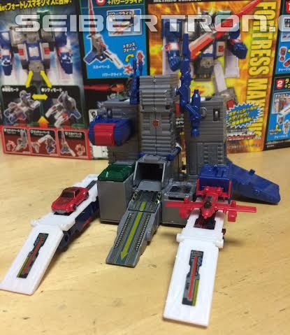 Transformers News: A Ton of In Hand Images of a Completed 2016 Kabaya Transformers DX Fortress Maximus