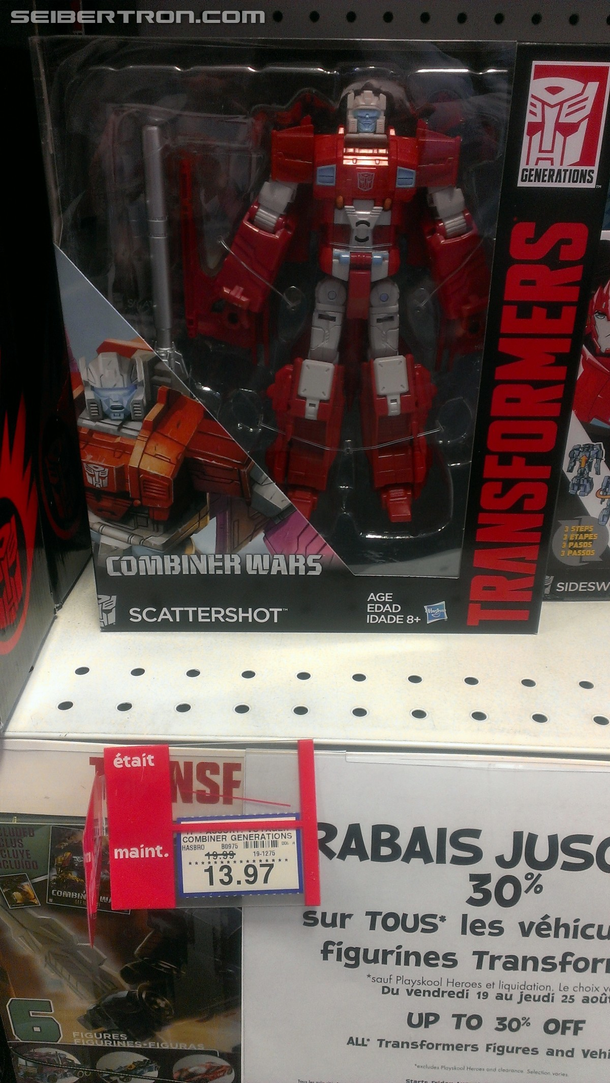 Transformers News: Sale of up to 30% Off on all Transformers at Toysrus Canada