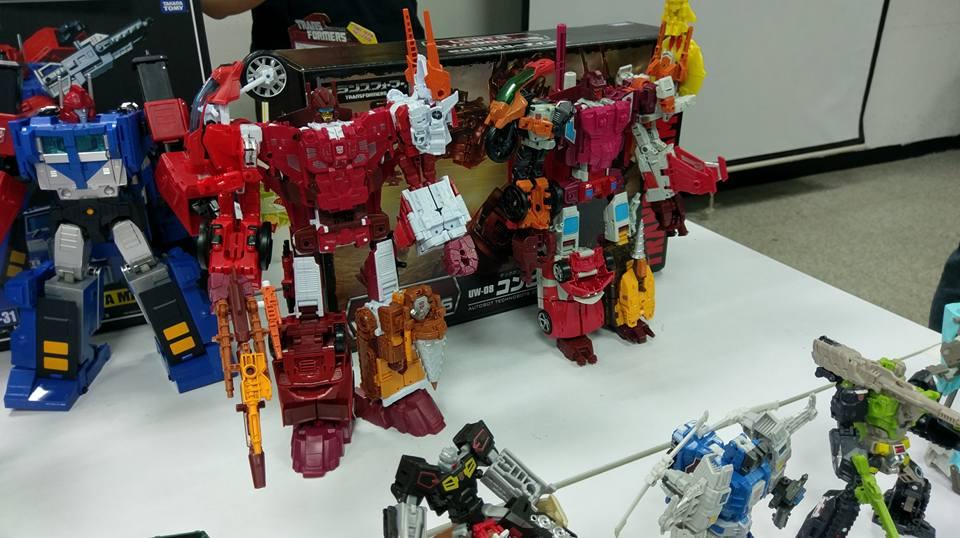 Takara Tomy Transformers Unite Warriors UW08 Computron Action Figure