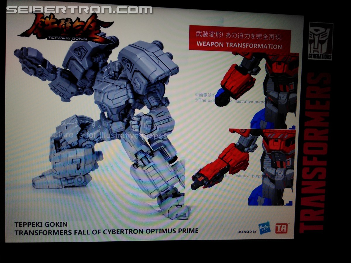 Transformers News: Toys Alliance Transformers Toys at TFNation: MAS-01 Optimus, Teppeki Gokin Optimus Prime, Megatron